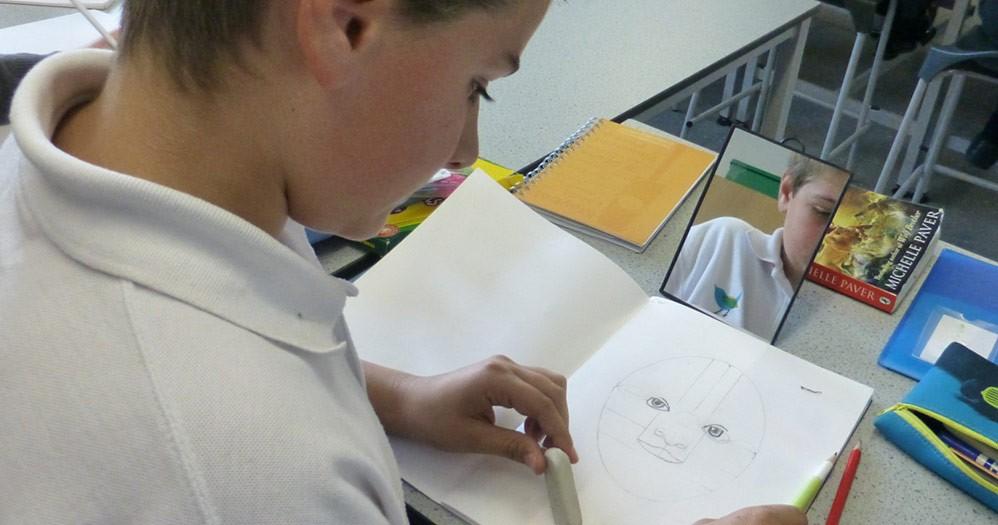 Art at The Wren School, Reading, Berks